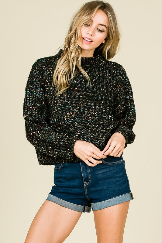 FEEL FOR FASHION CROP SWEATER