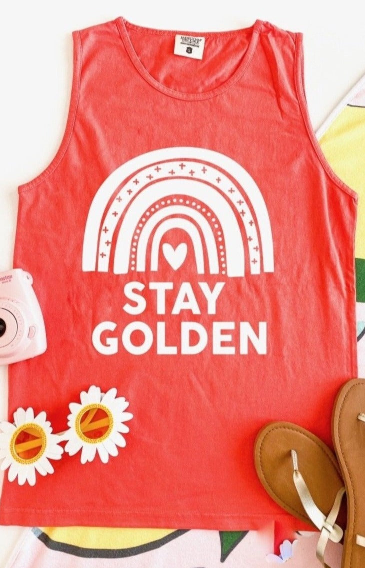 JLB STAY GOLDEN TANK