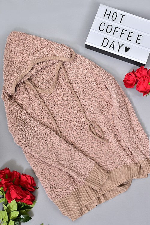 SOFTLY LOVIN' HOODED SWEATER