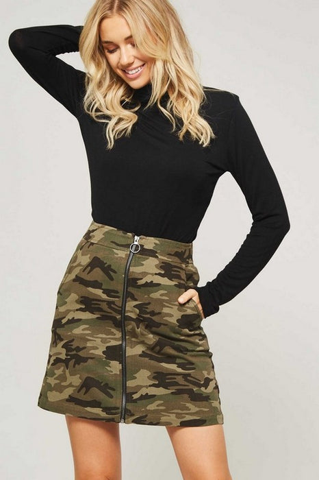 CAMO IS THE NEW PINK SKIRT