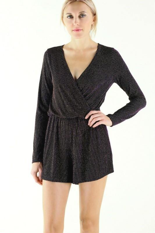 BE THE STAR SHIMMER ROMPER