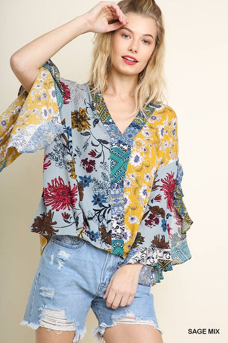 MAKE THEM WONDER PATCHWORK TOP