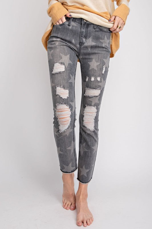 DIFFERENT THAN MOST STAR SKINNY JEANS