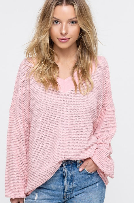 SPRING PICNIC KNITTED TOP