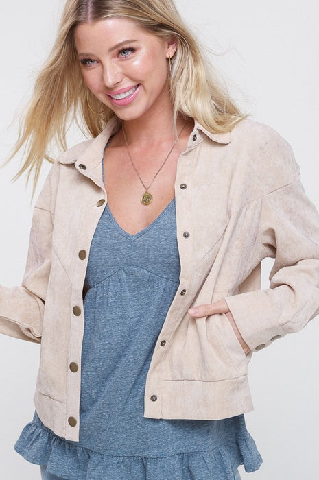 NOT YOUR LADY VINTAGE CORDUROY JACKET