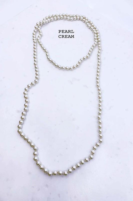 BE DAZZLE ME EXTRA LONG NECKLACE STRAND