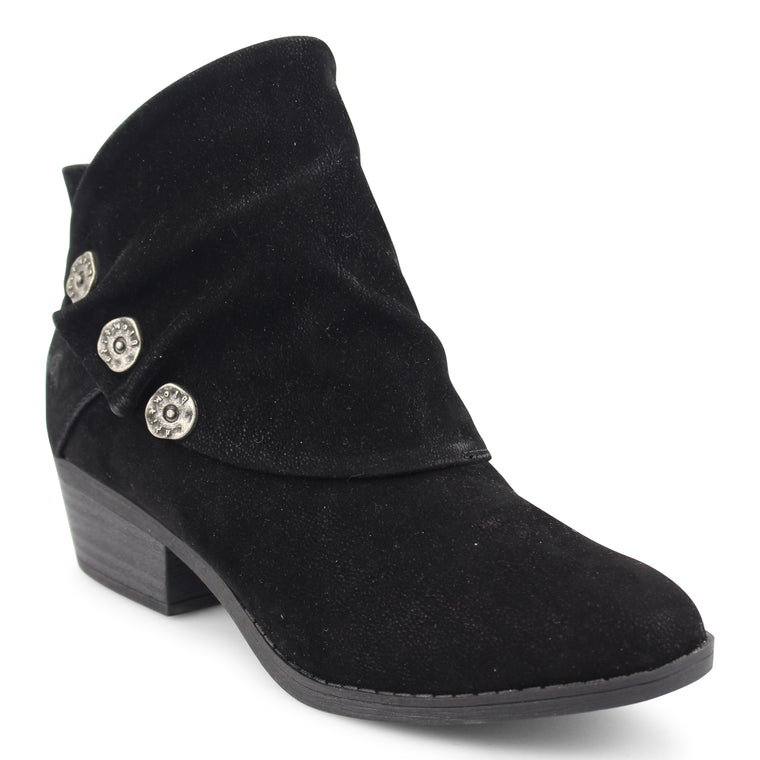 BLOWFISH SINGE BLACK BOOTIE