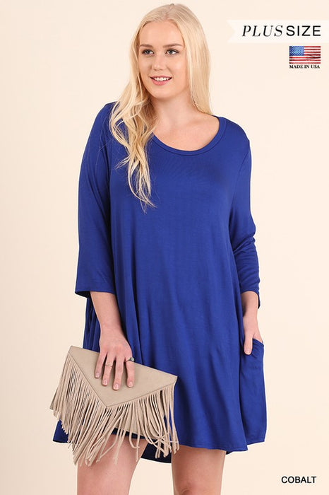 PLUS FEEL SO RIGHT T-SHIRT DRESS