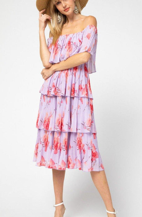 BLOOM WHEREVER YOU GO DRESS