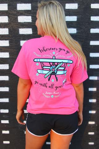 JLB WHEREVER YOU GO TEE