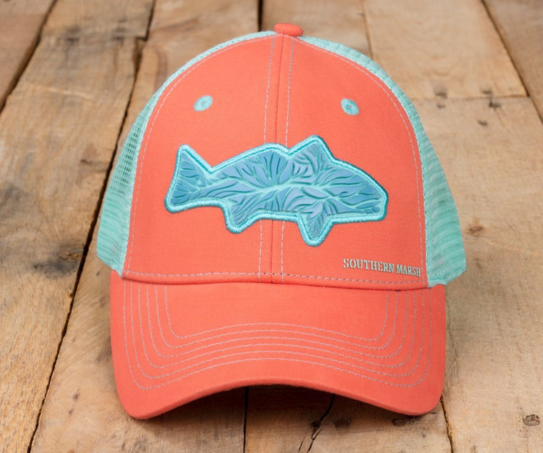 SOUTHERN MARSH TRUCKER HAT-DELTA