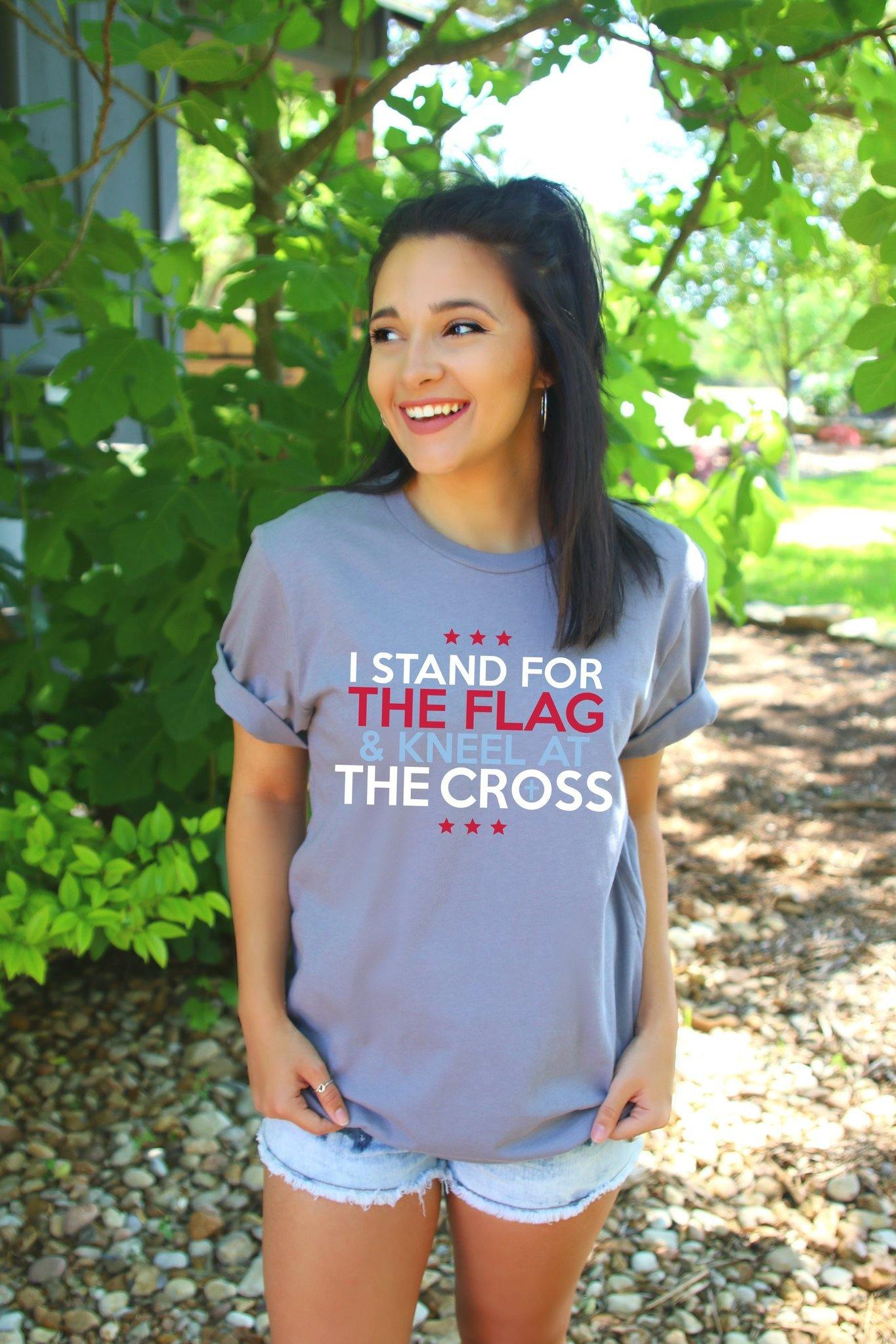 ATX I STAND FOR THE FLAG TEE