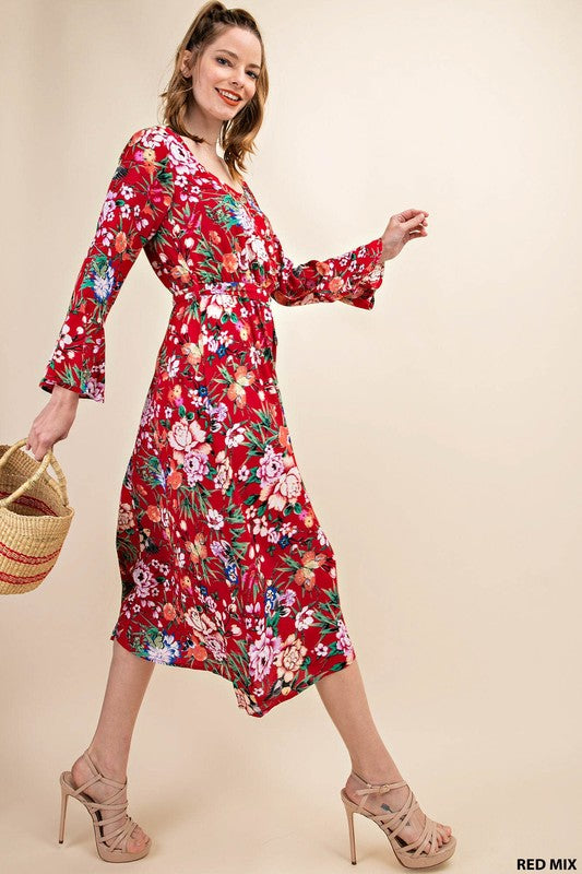 DANCE IN THE FLOWERS DRESS