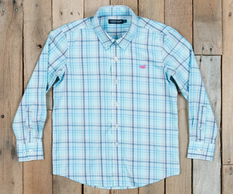 YOUTH SOUTHERN MARSH DRESS SHIRT