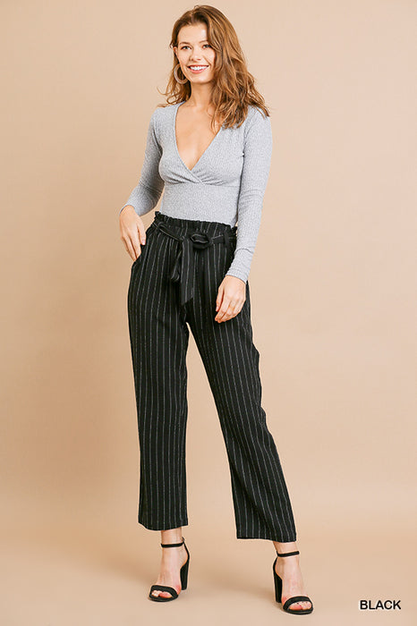 LIFE IS GOOD PINSTRIPE PANTS