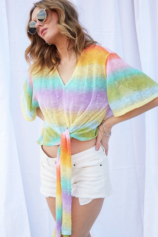 RAINBOWS AND SUMMERTIME TOP