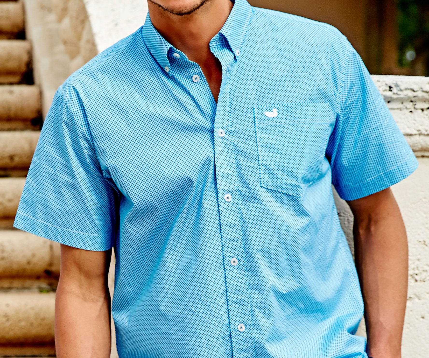 SOUTHERN MARSH ASTOR DIAMOND SHIRT