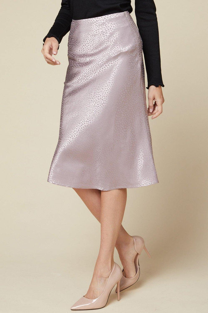 IN YOUR MEMORIES SATIN SKIRT - shopbellabird