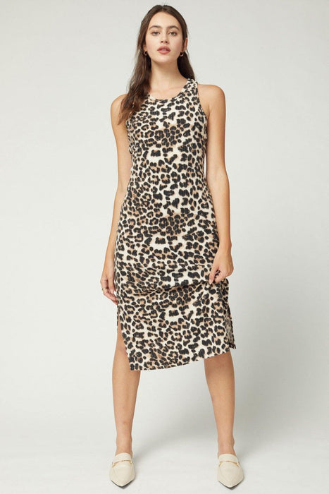 AUTUMN TIME LEOPARD DRESS