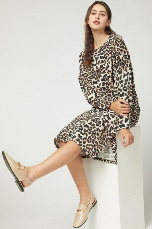 AUTUMN TIME LEOPARD TOP
