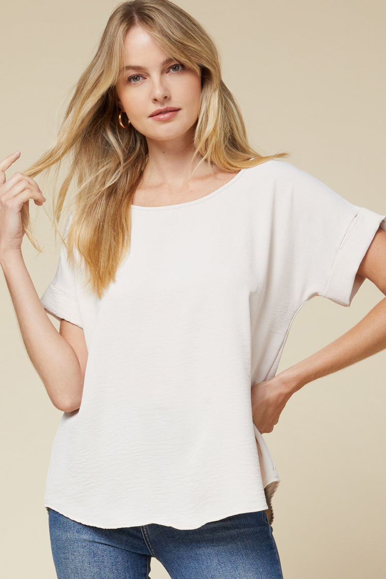 CREAM OF THE CROP OATMEAL SCOOP TOP
