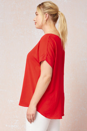 Curvy The One Top | Tomato