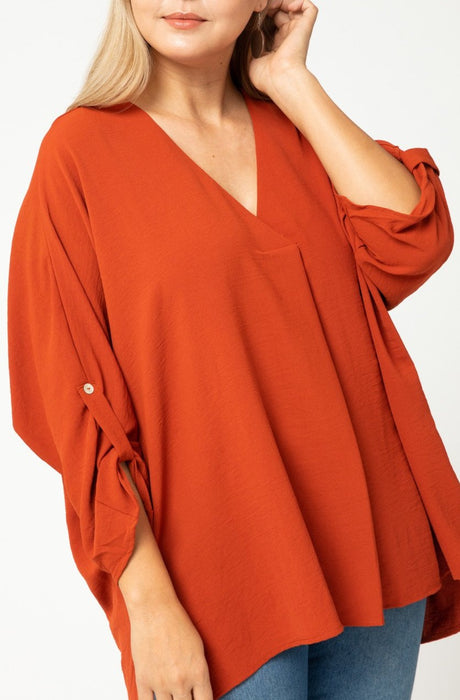 CURVY THE SYDNEY BLOUSE TOP