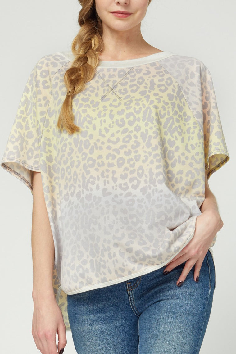 COZY FEELING LEOPARD TOP