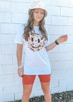 ALL SMILES Graphic Tee | White - shopbellabird
