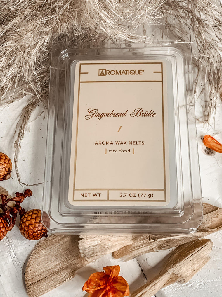 AROMATIQUE GINGERBREAD BRULEE WAX MELTS