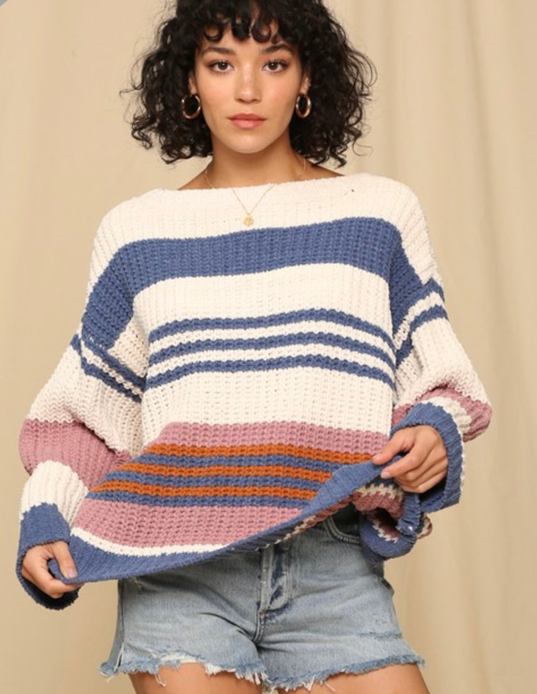 SWEET AND TOASTY CROP SWEATER