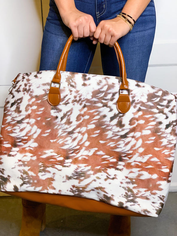 THE WEEKENDER BAG - FAWN