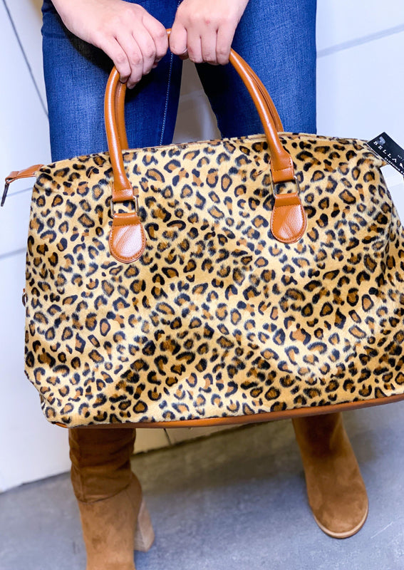 THE WEEKENDER BAG - LEOPARD