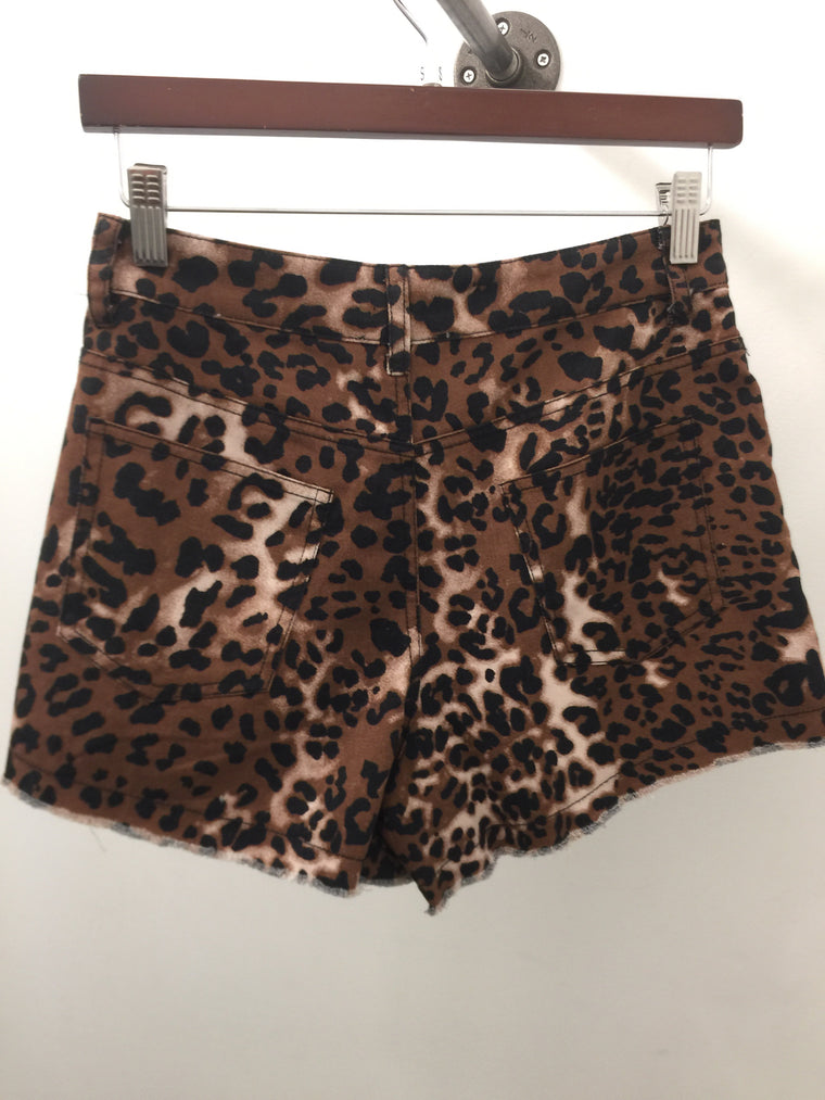 CH....CH...CHEETAH GIRL SHORTS