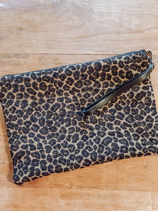WILD, WILD WEST LEATHER HIDE DOUBLE SIDED WRISTLET (G)