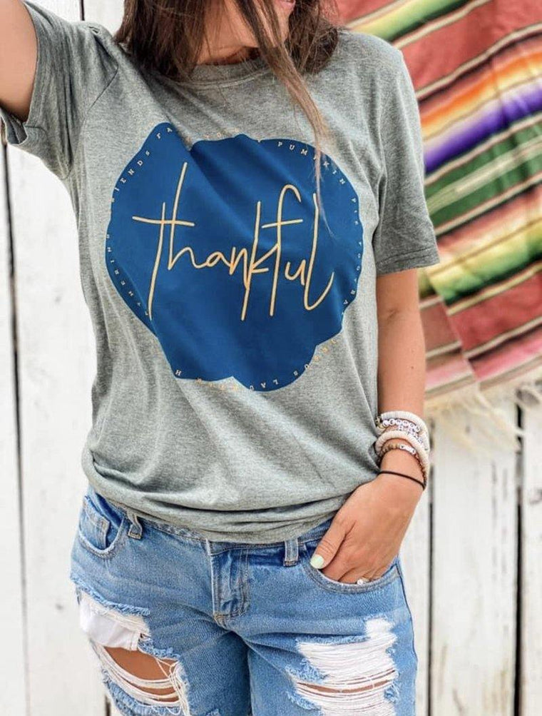 THANKFUL FOR ALL THE THINGS GRAPHIC TEE