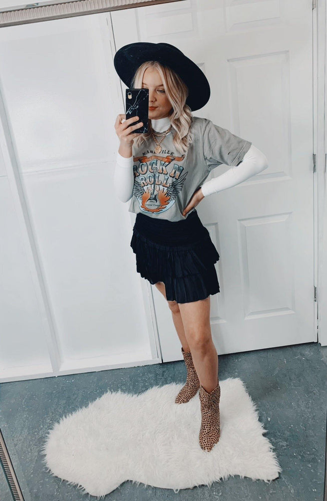 Load image into Gallery viewer, Nashville Babe Tee | Grey Taupe - shopbellabird