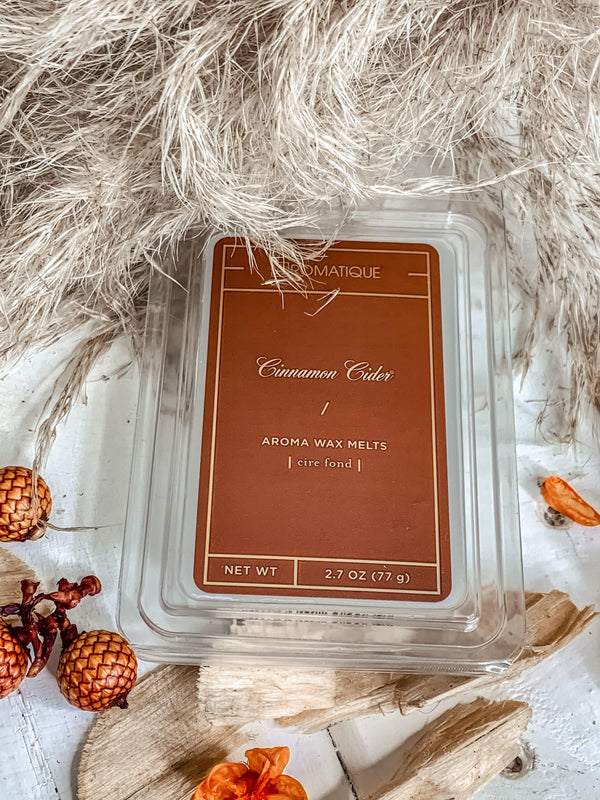 AROMATIQUE CINNAMON CIDER WAX MELTS