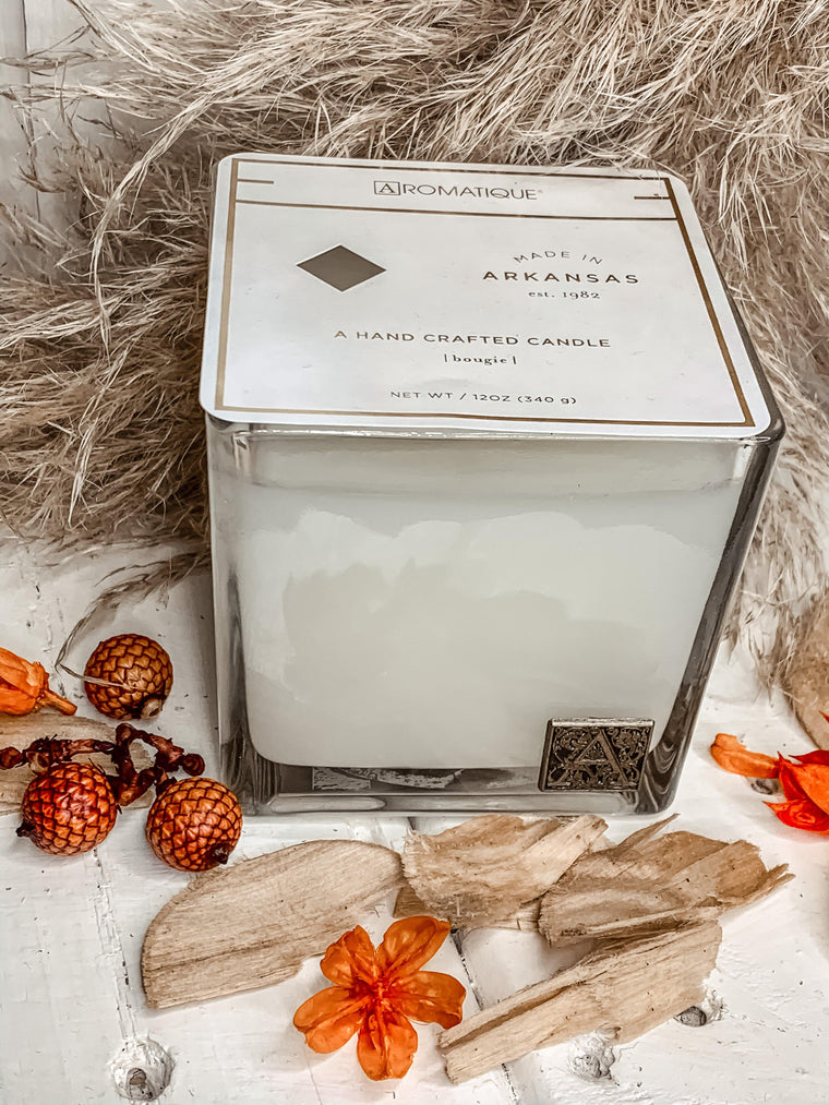 AROMATIQUE GINGERBREAD BRULEE CANDLE
