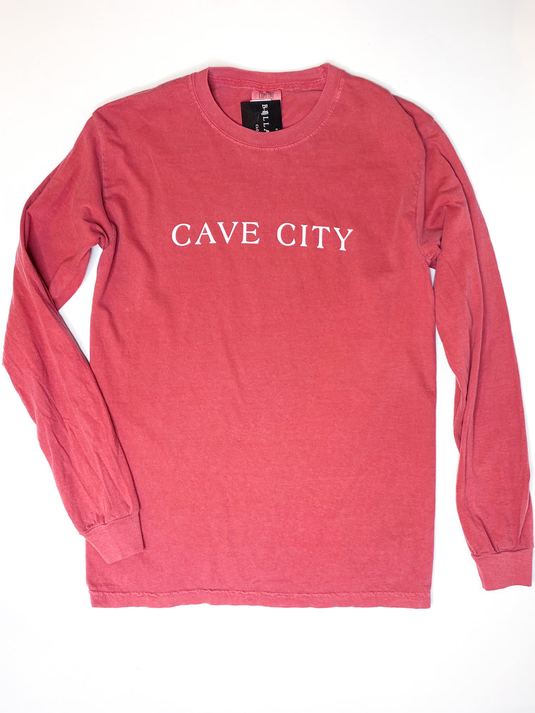 CAVE CITY SEASIDE LONG SLEEVE TEE