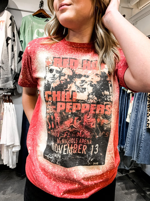 REBELBELLE RED HOT CHILI PEPPERS TEE