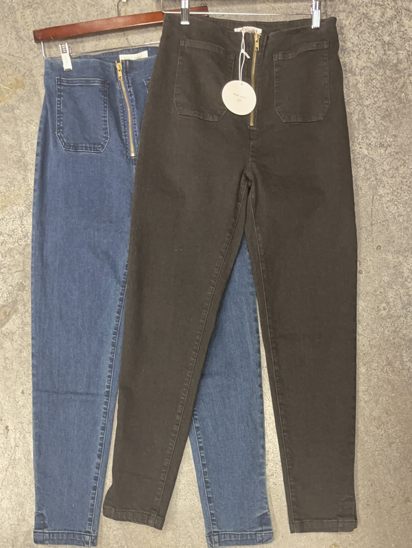 WILD HONEY ZIP PANTS - SIZE LARGE