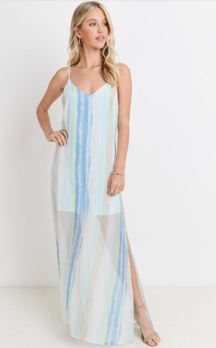 NO STRINGS ATTACHED MAXI DRESS