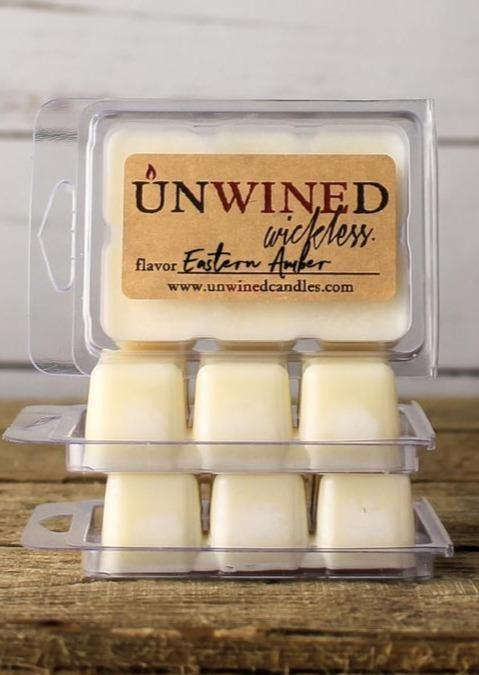 UNWINED EASTERN AMBER WAX MELTS