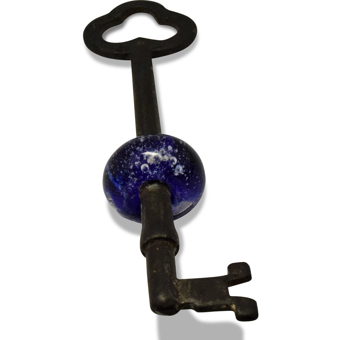 Antique Memorial Key Infused with Cremation Ashes-Forever Fused
