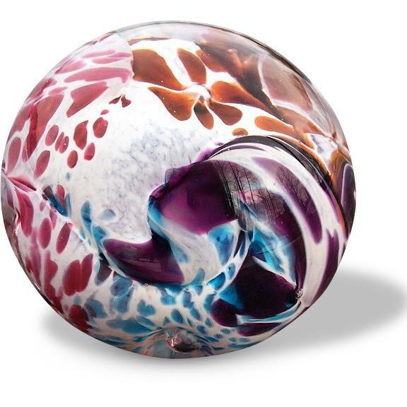 Memorial Glass Ball -Tiger Eye-3 Colour Options.-Forever Fused