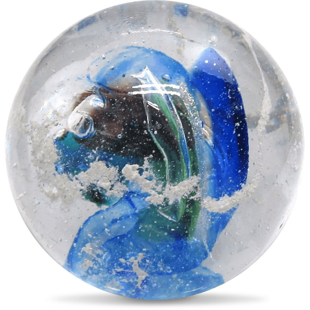 Memorial Nebula Orb infused with Cremation Ashes for Pets and Family-Forever Fused