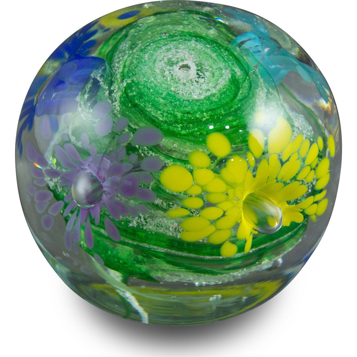Remembrance Ash Floral Globe Orb-Forever Fused