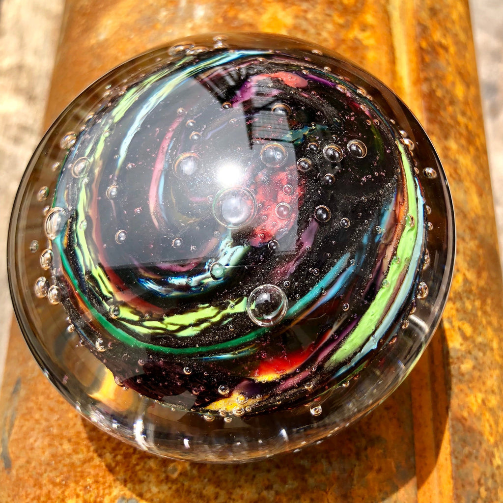 Soul Whisper Remembrance Paperweight With Cremation Ashes-Forever Fused