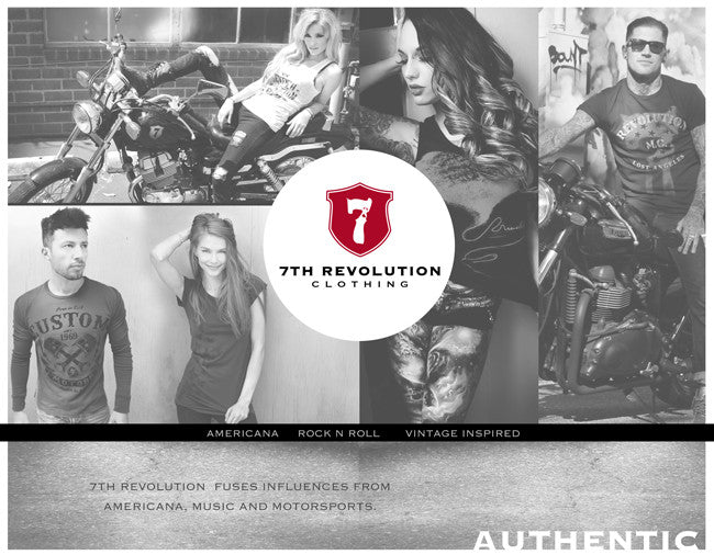 The 7th Revolution Clothing Story